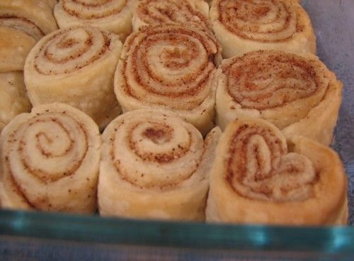 Cinnamon Rolls Made From Leftover Pie Crust Dough