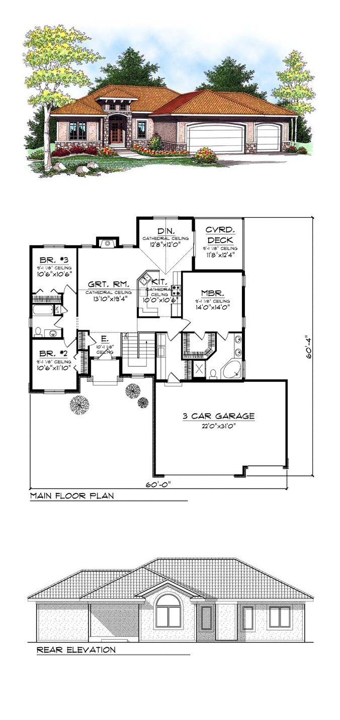 1000 Images About Adobe Home Plans On Pinterest House