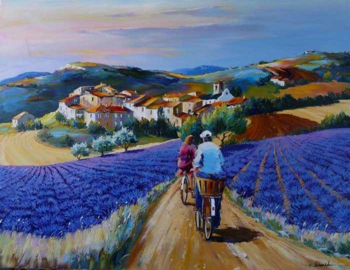 Mirando al mundo con sentimientos: Pinturas al óleo de Christian Jequel