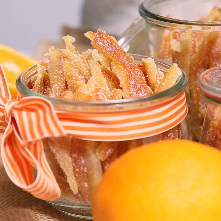How to Make Candied Orange Peels - Sunset