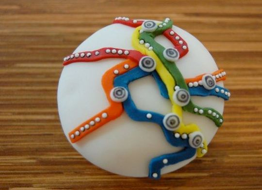 metro (hello cupcake).