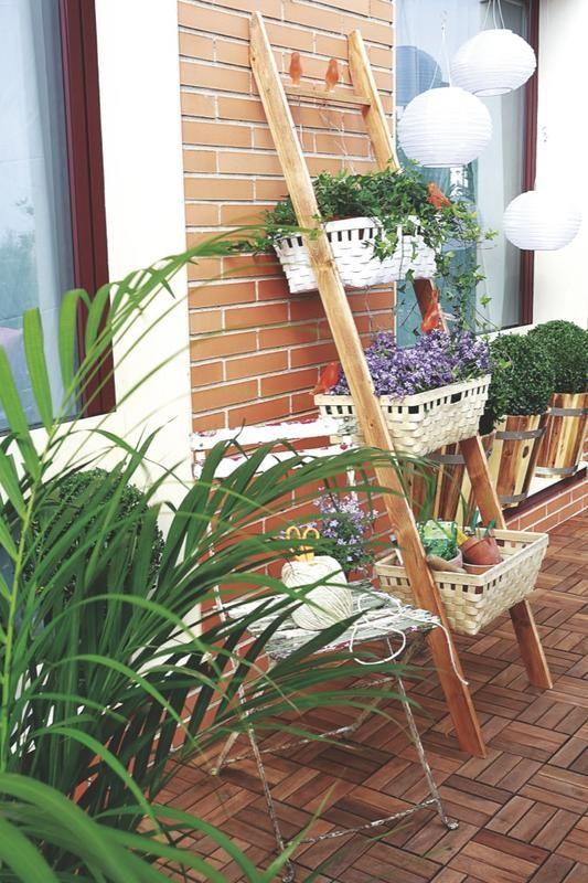 Cómo hacer una #jardinera para la terraza #DIY y #manualidades