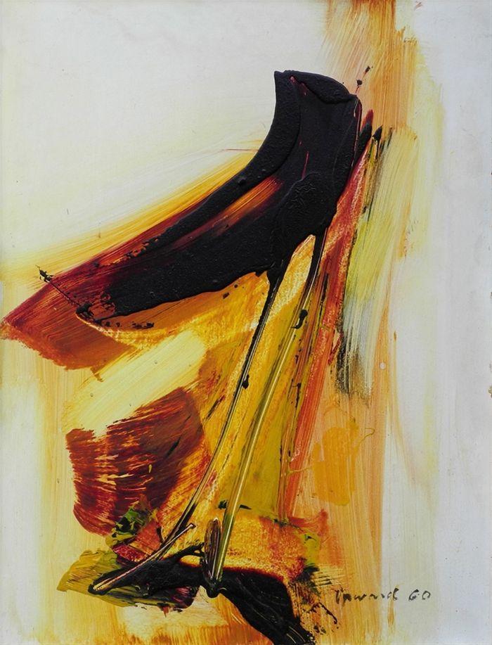 || Peter Upward -Untitled, 1960, oil on board