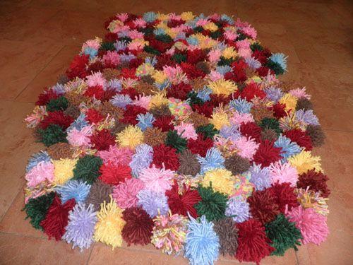 Como hacer alfombras de lana alfombras f ciles de hacer - Como limpiar alfombras de lana ...