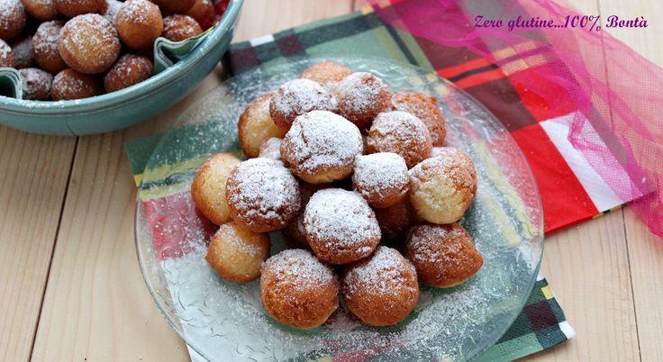 Le castagnole senza glutine e lattosio sono dei dolcetti fritti che si preparano nel periodo carnevalesco e sono così buone che finisco subito.