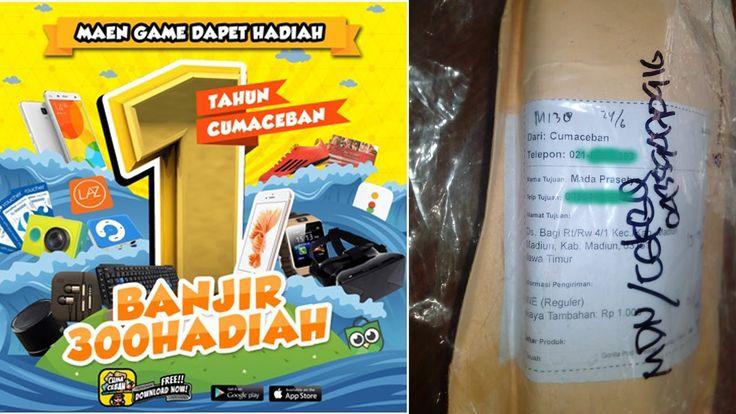 INBOLY | DAPET HADIAH DARI GAME CUMACEBAN.COM