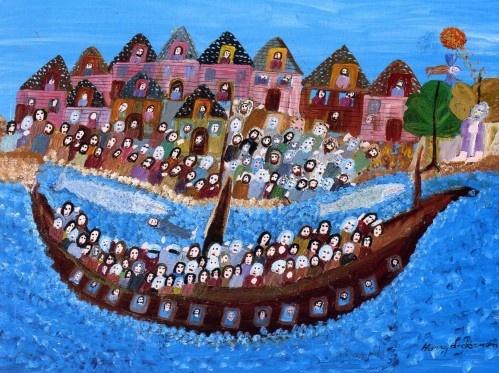 Folk-Artist Harry Lieberman