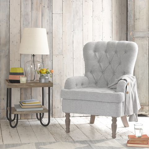 HOUND DOG CHAIR. With its air of faded grandeur and dowager cocktail parties gone-by, this chair is your new favourite place to curl up and read 'Wuthering Heights' for the eleventh time. Or do your Sudoku puzzle. Your call. #occasionalchair #livingroom