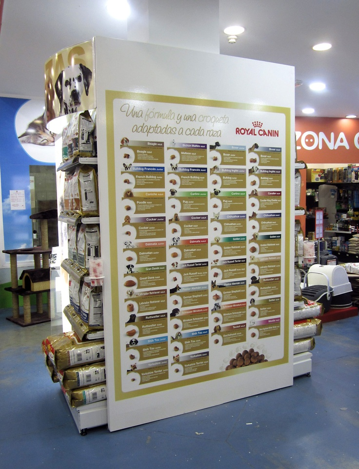 Breed Corner in Spain (by Royal Canin Spain - a division of Mars-)