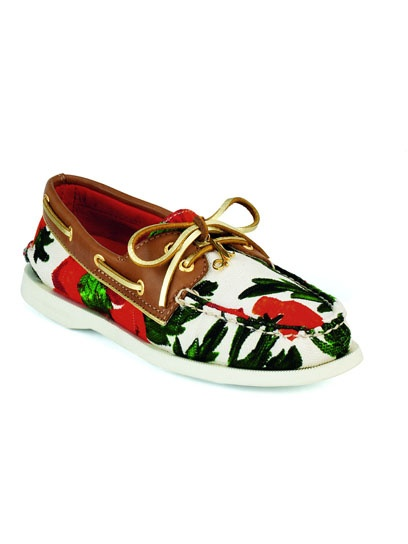 GASP: Fashion, Boats Shoes, Style, Sperry Tops Sid, Top Pages, Clothing, Sperry Topsid, Rose Prints, Floral Shoes