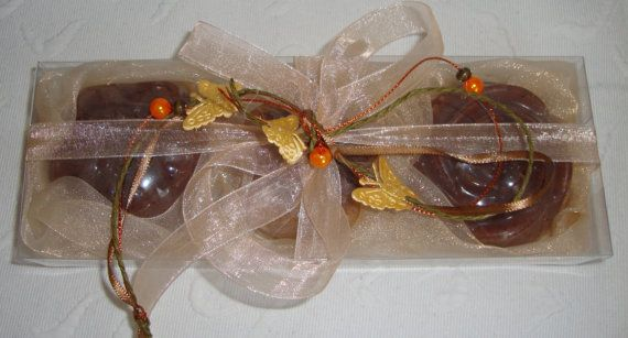 Beige Brown Chocolate Soap Gift Set by JoannasScentedSoaps on Etsy