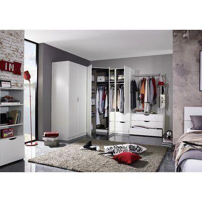 rauch alvara 2 door corner wardrobe eckschrank eckschrank
