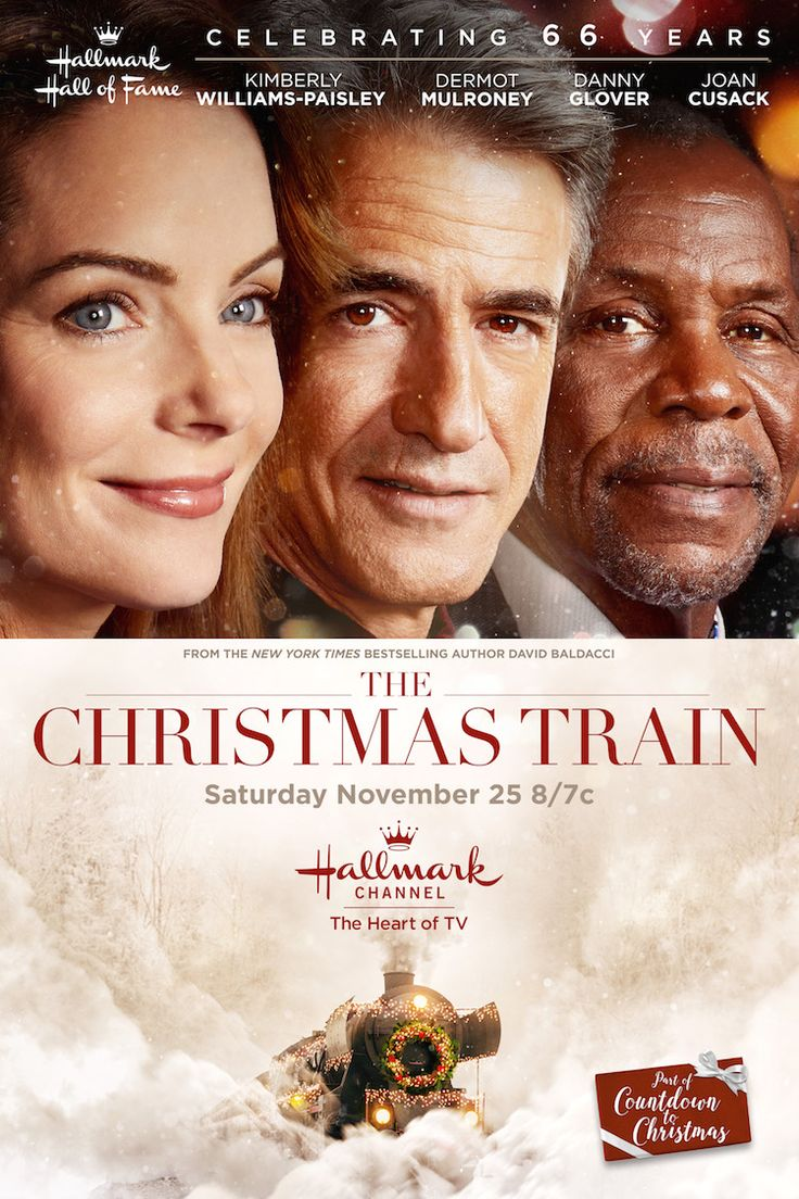 An all-star cast climbs aboard Hallmark Hall of Fame's The Christmas Train premiering November 25 at 8/7c on Hallmark Channel and Hallmark Movies & Mysteries!