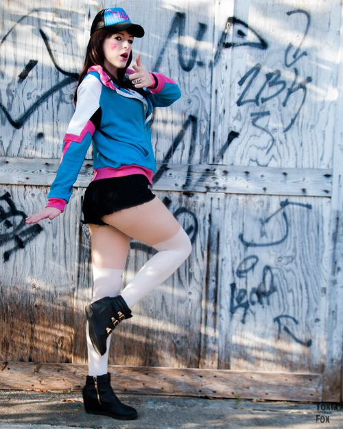 D.Va from Overwatch Casual Cosplay