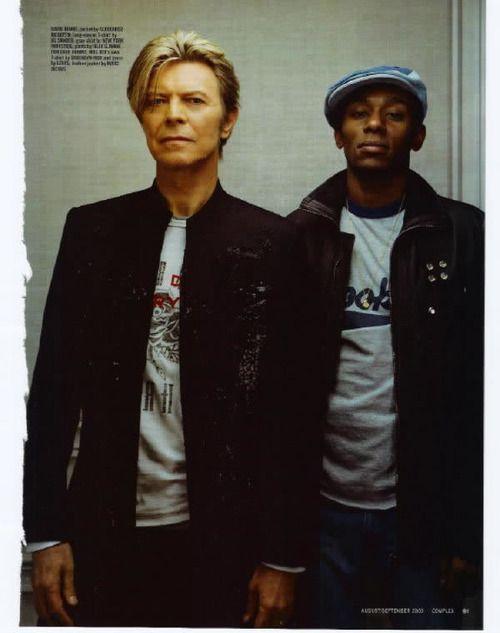 David Bowie & Mos Def <3 them both!