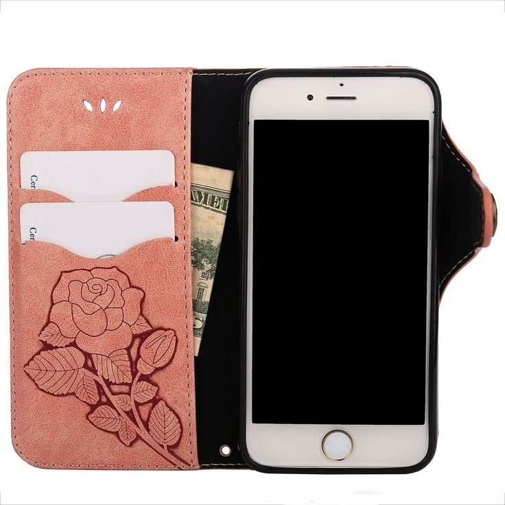 "Black Friday Deals 2017 iPhone 8 7 4.7"" Leather Case Flower Italian Style Pink #Valentoria #Italian"