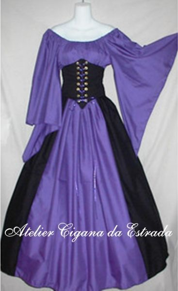 Vestido Medieval do Campo                                                       …
