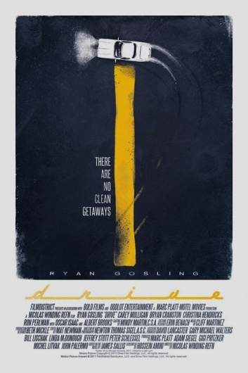 Favorite movie of 2011: Movie Posters, Film, Graphic Design, Poster Design, Movieposters, Art, Movies, Drive Poster, Mike Horowitz