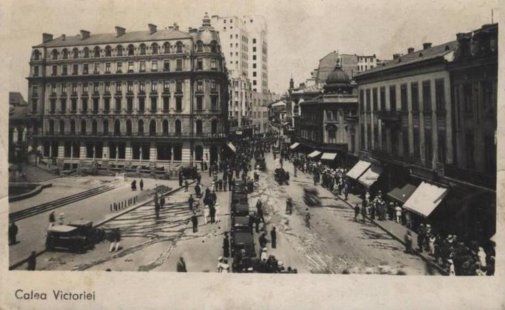 Calea Victoriei, anii '30 https://www.facebook.com/?q=#/IRIFadmin
