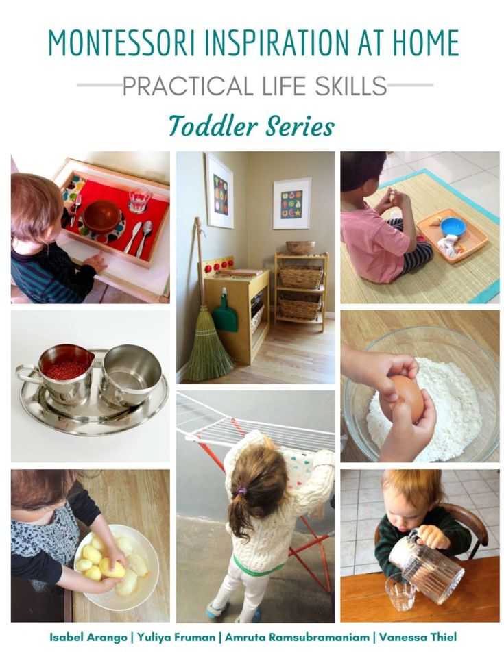 An easy-to-follow guide to help parents implement Montessori practical life activities with their toddlers. Tons of checklists and resources are included.