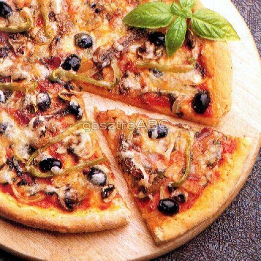 Hagyományos ropogós pizza   Receptek