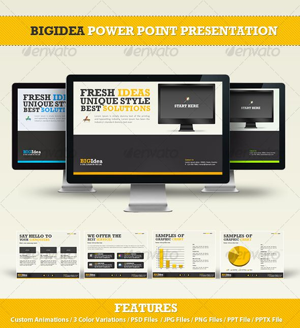 A List of Visually Attractive PowerPoint Templates