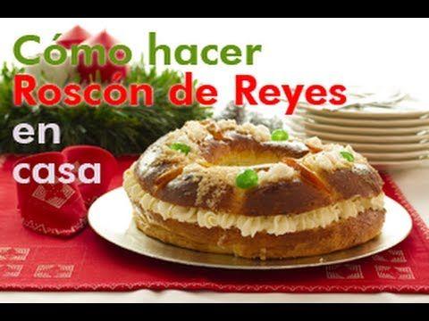 Roscón de Reyes receta | webos fritos