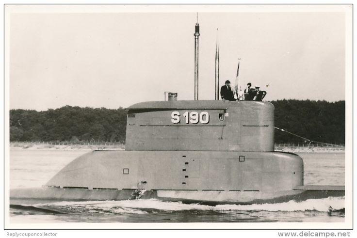 Bundesmarine - U 11 / S190 - Submarinos