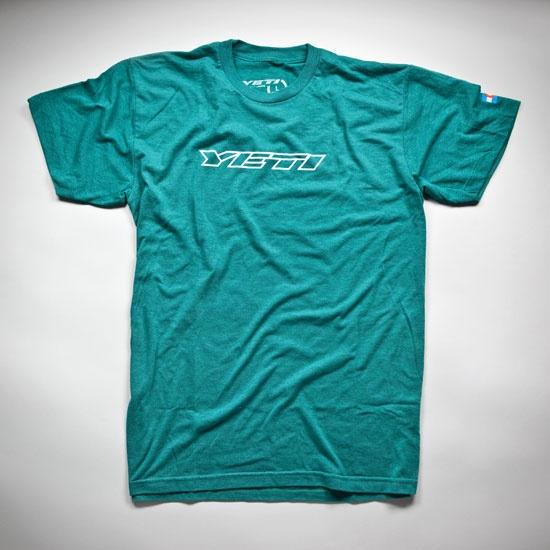 Classic Yeti t-shirt.