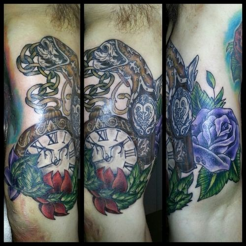 Clock Tattoos: Meanings, Pictures, Designs, and Ideas ...  |Alarm Clock Tattoo