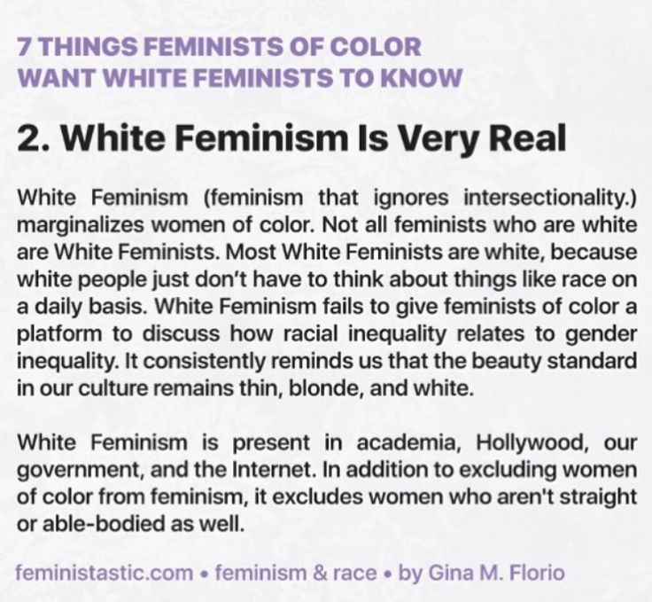 should intersectional feminism recognises - 900×900