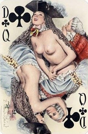Le florentin erotic playing cards of paulemile becat - 2 part 8