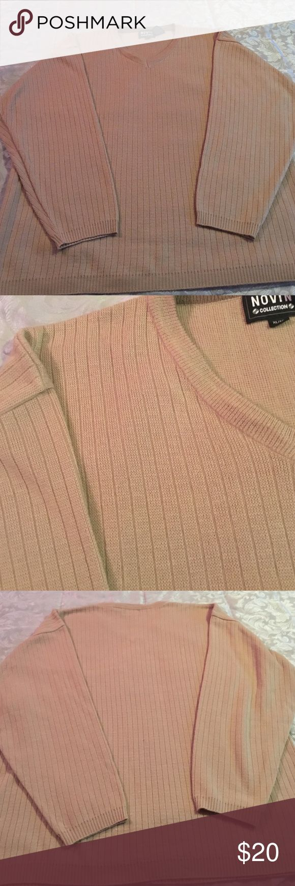 Tan Grandpa sweater In great condition. 🚫not American apparel American Apparel Sweaters Crewneck