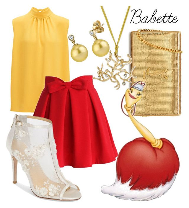 Babette by thoroughlyadorkable on Polyvore featuring polyvore fashion style Joseph Chicwish Bella Belle Yves Saint Laurent clothing