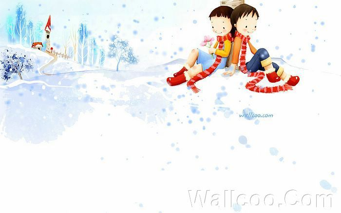 Kim Jong Bok Illustrations(Vol.04) : Sweet Puppy Love   - Puppy Love - Sweet Couples illustration Wallpaper 18