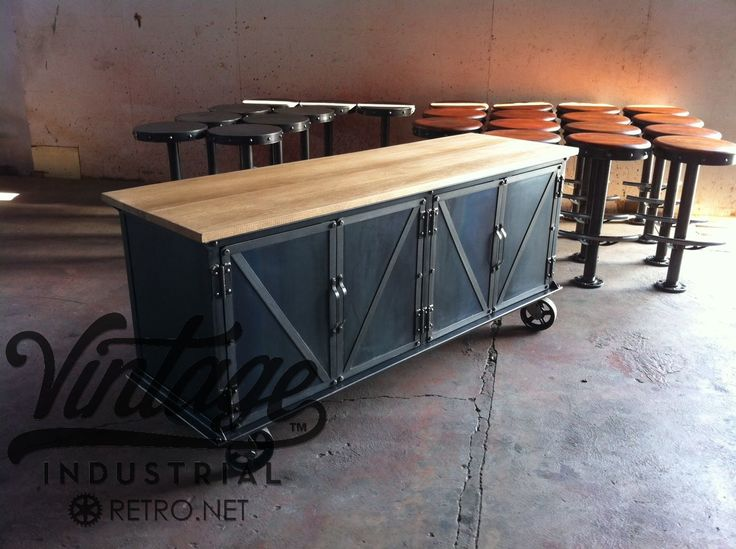 Mejores 1293 im genes de vintage industrial furniture for Muebles industriales vintage