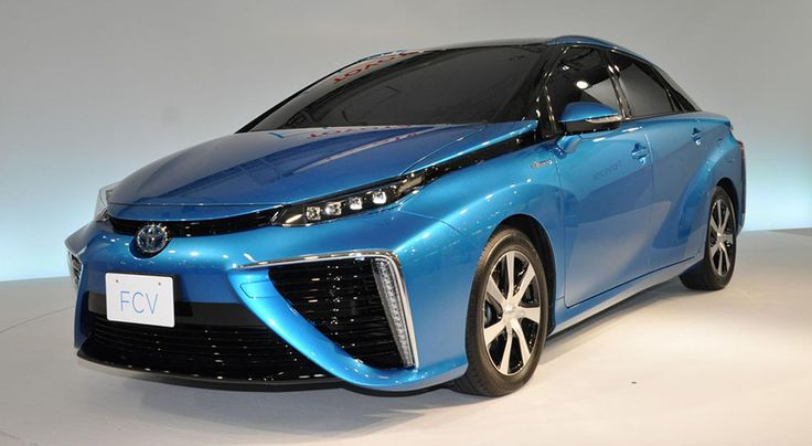 Toyota has announced that it's upcoming fuel cell vehicle (FCV) will be called the Mirai and that it's building a network of hydrogen stations in the US