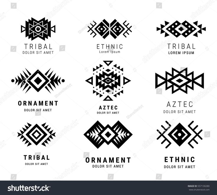 28 Ornamental Aztec Tattoo Designs Ideas: Best 25+ Geometric Logo Ideas On Pinterest