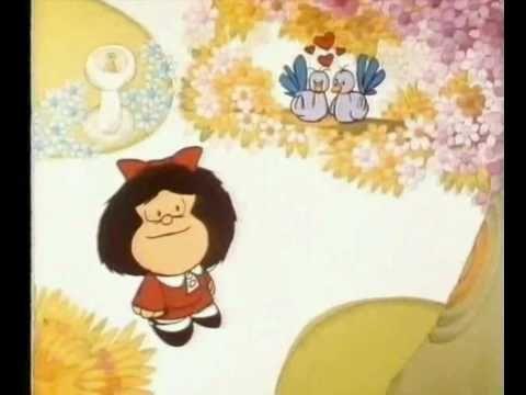 Mafalda y la primavera: bien para trabajar las estaciones