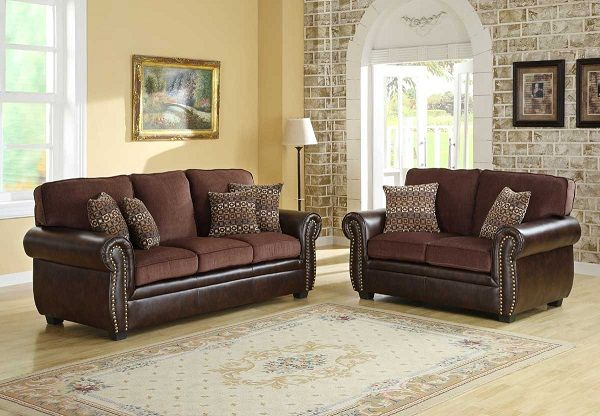 Living Room Wall Color For Dark Brown