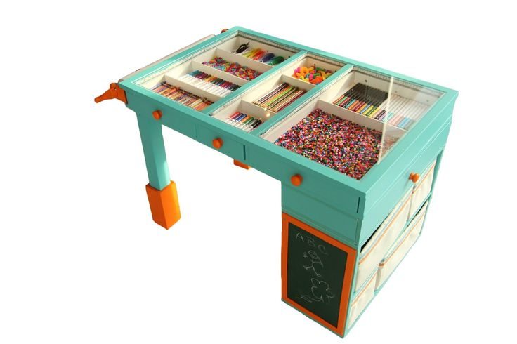 art table with storage 1