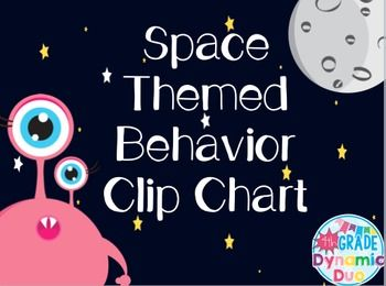 A great way to track student behavior. This space themed chart is cute and useful in any classroom. The students have the following levels:Out of This WorldUp Among the StarsBlasting OffReady to LearnLaunch DelayedHouston...We Have a ProblemLost in SpaceStudents can move up or down on the chart to track behavior.