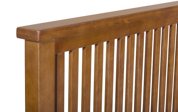Best Arts And Crafts Mission Oak Slat Bed Queen Size 400 x 300