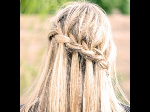 Great tutorial on the waterfall braid (and how to finish it).