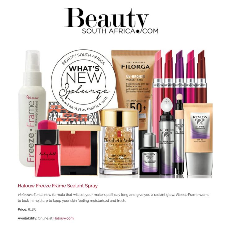 Halouw Freeze Frame featured online Beauty South Africa- #beauty #makeup #makeupproducts