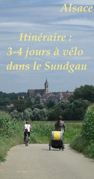 Itinéraire pour découvrir le Sundgau à Vélo - Cyclotourisme en Alsace, France