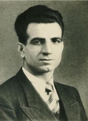 Missak Manouchian, Armenian communist poet and hero of the French Resistance.