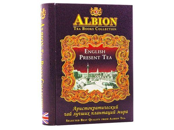 490 = Инглиш презент ти - черный чай (синяя банка) 100 г, Шри-Ланка с доставкой по России в онлайн магазине Исполнители Желаний