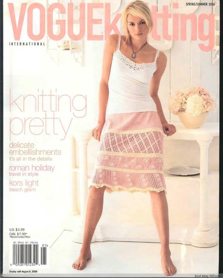 【转载】Vogue knitting 2006 Spring Summer - 木棉花的日志 - 网易博客