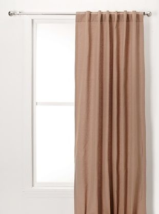 54% OFF Solid Linen/Cotton Panel (Brown Sugar)